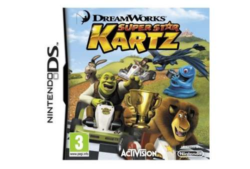 DreamWorks Super Star Kartz DS - Bazar