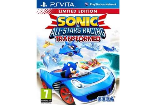 Sonic & All Stars Racing Transformed PS Vita - Bazar