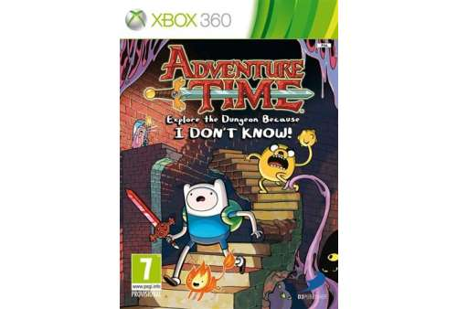Adventure Time: Explore The Dungeon Beca XBOX 360 - Bazar