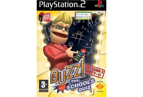 Buzz The Schools Quiz (Bez Buzzers) PS2 - Bazar