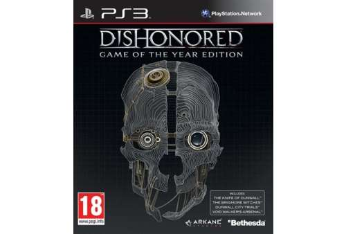 Dishonored - GOTY PS3 - Bazar