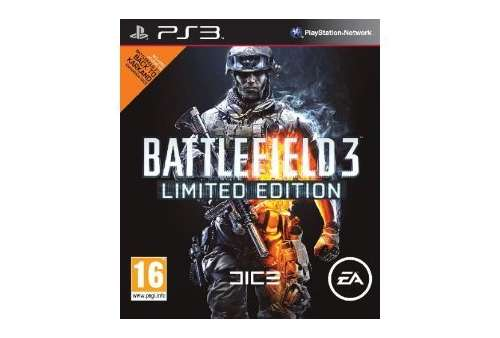 Battlefield 3 Limited Edition PS3 - Bazar