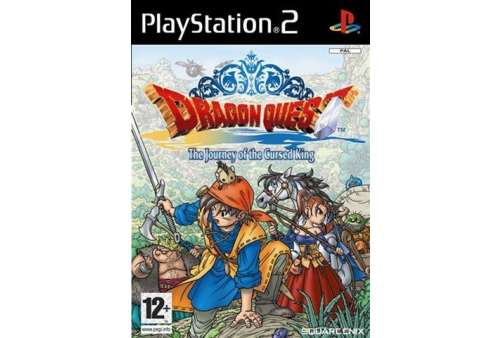 Dragon Quest Journey of the Cursed King PS2 - Bazar