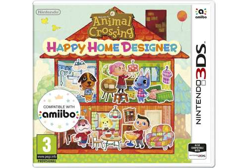 Animal Crossing: Happy Home Designer 3DS - Bazar
