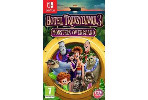 Hotel Transylvania 3: Monsters Overboard Switch - Bazar