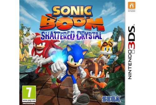 Sonic Boom: Shattered Crystal 3DS - Bazar