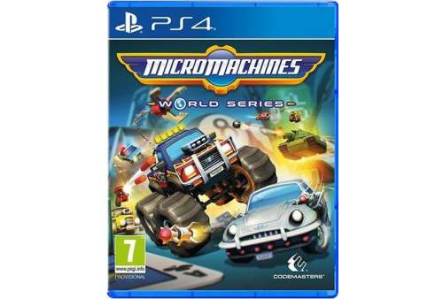 Micro Machines: World Series PS4 - Bazar