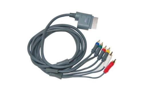 Microsoft Xbox 360 Official Component Video AV Cable - Bazar