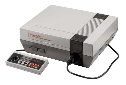 Nintendo Entertainment System + Ovladač (Stav A)