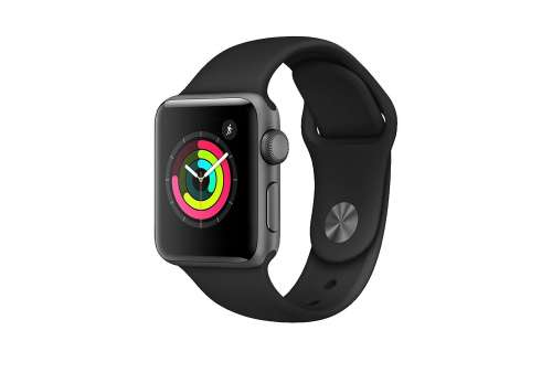 Apple Watch Series 3 38mm GPS Space Grey + Strap (Stav A)