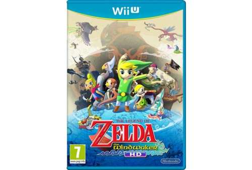 Legend Of Zelda: Wind Waker HD Wii U - Bazar