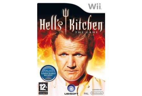 Hell's Kitchen Wii - Bazar