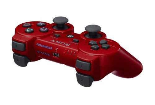 DUALSHOCK 3 Wireless Controller (red) - Bazar