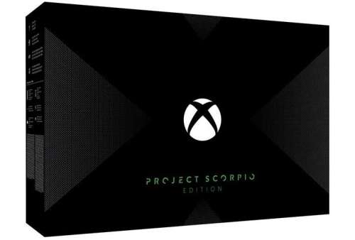Xbox One X Project Scorpio Edition 1TB (Stav B)