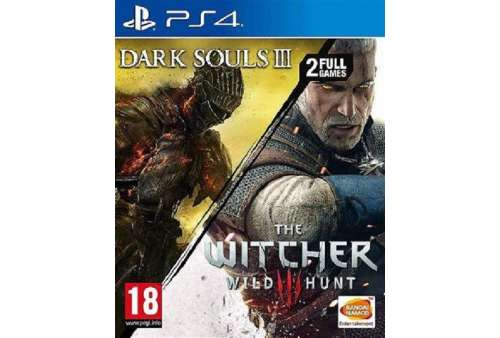 Dark Souls III & The Witcher 3 Wild Hunt Compilation PS4 - Bazar
