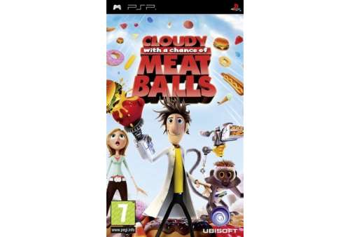 Cloudy With A Chance Of Meatballs PSP - Bazar