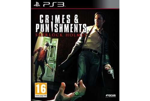 Crimes & Punishments: Sherlock Holmes PS3 - Bazar
