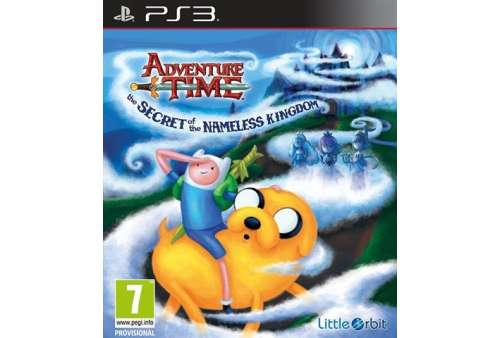 Adventure Time - The Secret of the Nameless Kingdom PS3 - Bazar