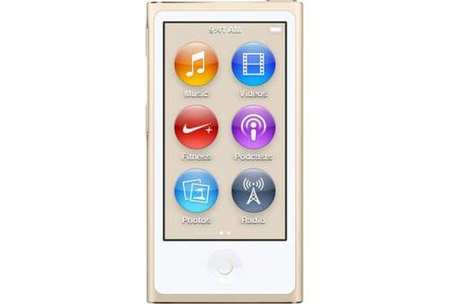 Apple iPod Nano 7th Generation 16GB - Gold (Stav A)