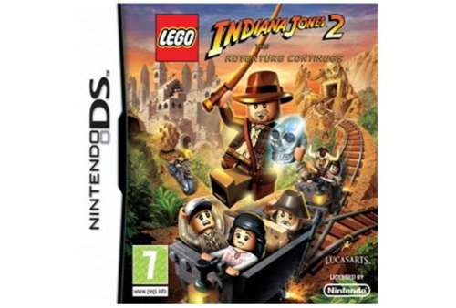 Lego Indiana Jones 2 DS - Bazar