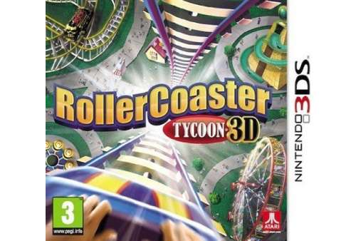 Rollercoaster Tycoon 3D 3DS - Bazar