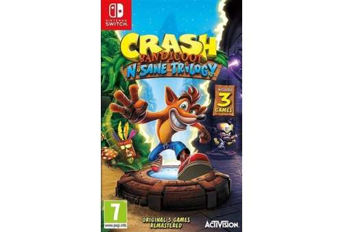 Crash Bandicoot N. Sane Trilogy Switch - Bazar