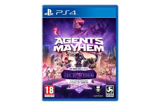 Agents of Mayhem PS4 - Bazar