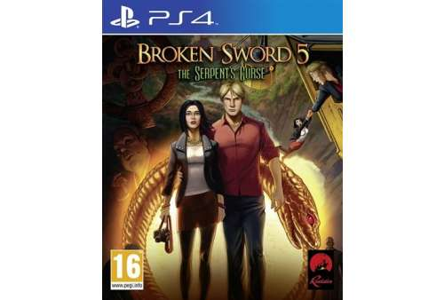 Broken Sword 5: The Serpents Curse PS4 - Bazar
