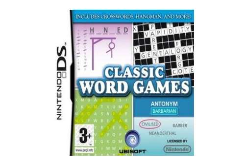 Classic Word Games DS - Bazar