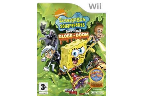 Spongebob Squarepants - Glob of Doom Wii (Grade A)