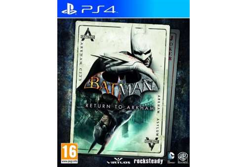 Batman: Return To Arkham PS4 - Bazar