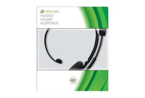 Wired Headset Black Xbox 360 (2010) - Bazar