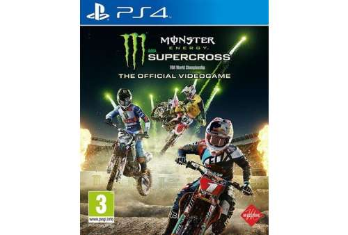 Monster Energy Supercross PS4 - Bazar