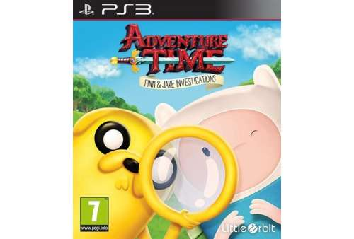 Adventure Time: Finn and Jake Investigations PS3 - Bazar