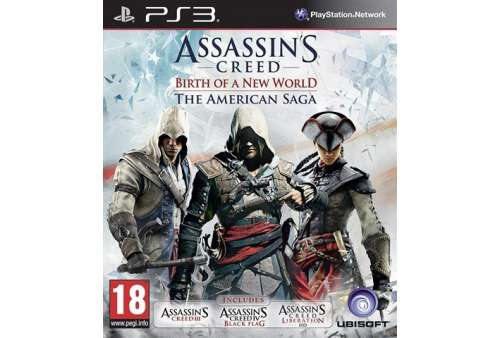 Assassins Creed - Birth Of A New World - The American Saga PS3 - Bazar
