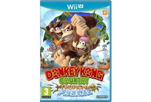 Donkey Kong Country: Tropical Freeze Wii U - Bazar