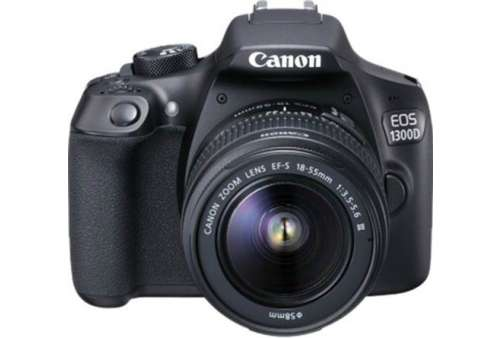 Canon EOS 1300D with 18-55mm III Lens (Stav A)