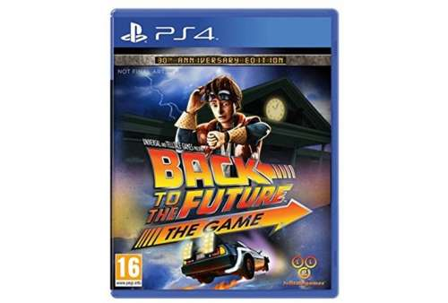 Back to the Future: The Game PS4 - Bazar