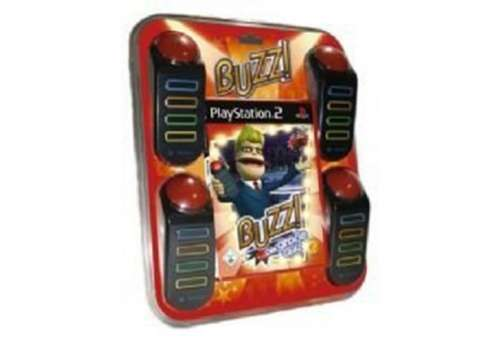 Buzz! The Big Quiz with 4 Buzzers PS2 - Bazar