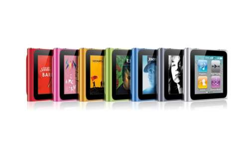 Apple iPod Nano 8GB 6th Generation (Stav B)