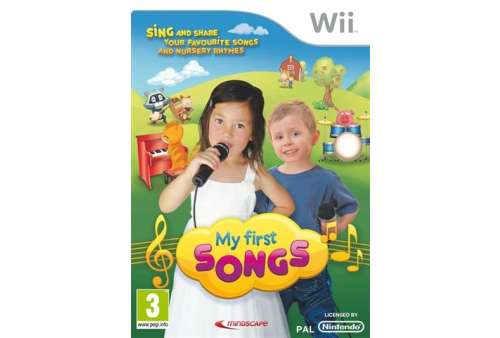 My First Songs Solus Wii - Bazar