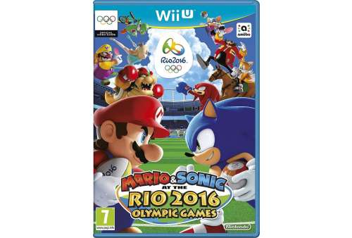 Mario and Sonic: Rio 2016 Olympic Games Wii U - Bazar