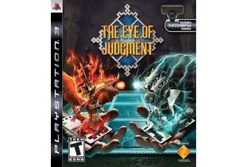 Eye Of Judgement + Eye Camera PS3 - Bazar
