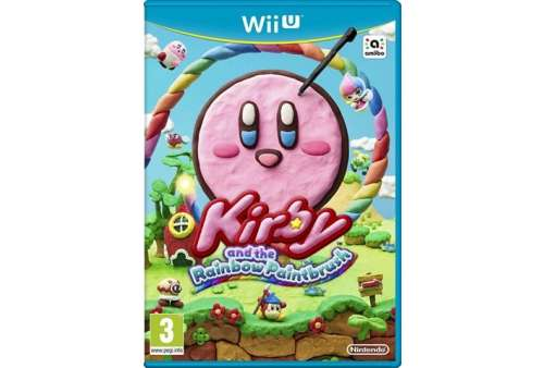 Kirby & The Rainbow Paintbrush Wii U - Bazar