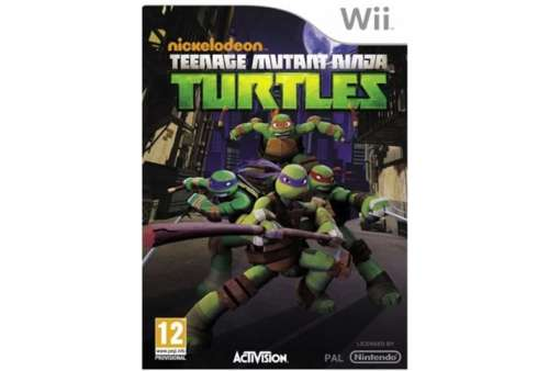 Teenage Mutant Ninja Turtles Wii - Bazar