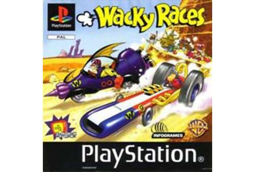 Wacky Races PS1 - Bazar